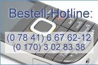 Noch Fragen? Oder möchten Sie lieber telefonisch bestellen? - Rufen Sie uns an, wir freuen uns auf Sie!